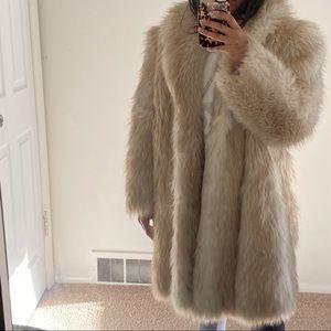 Casper Faux Fur Coat